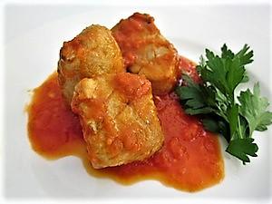 Clase de bonito - Bonito con tomate - Curso de cocina - Escuela de cocina TELVA