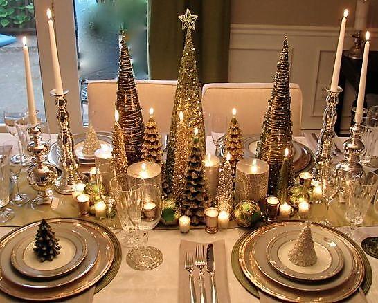 Mesa de Navidad - Cena de Fin de Año - Escuela de cocina TELVA