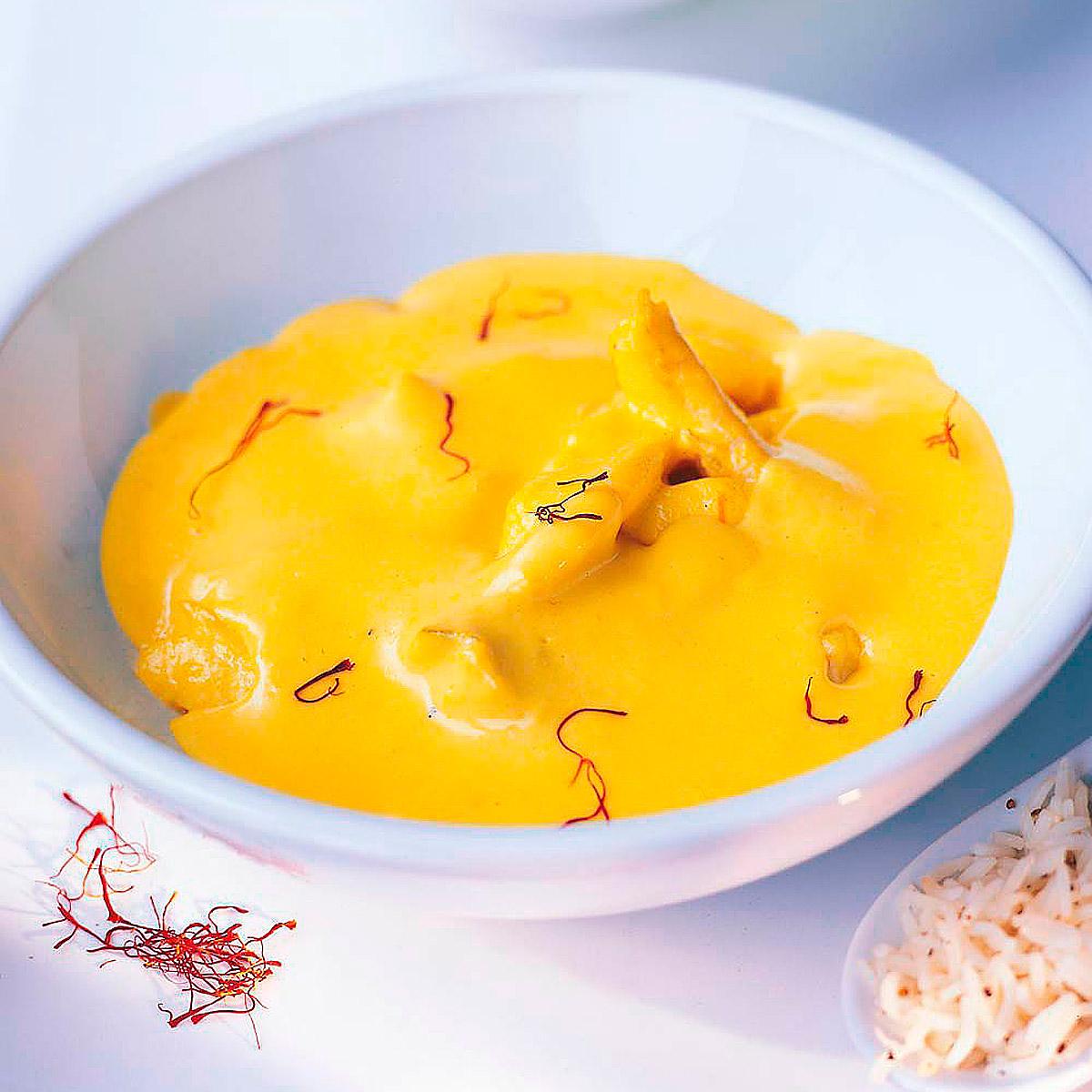 Gallo en salsa de azafr n escuela de cocina telva - Escuela de cocina azafran ...