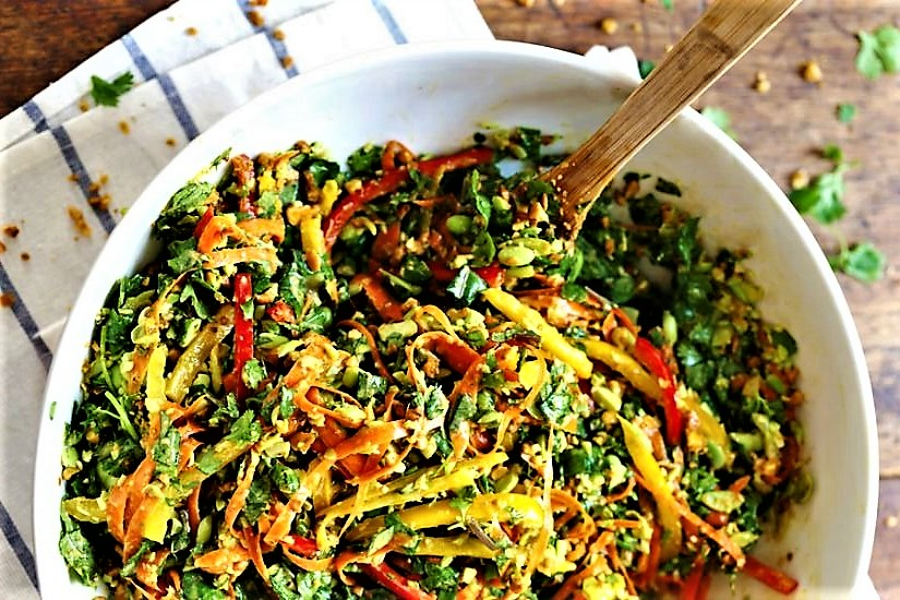 Clase de ensaladas en la escuela de cocina telva - Escuela cocina telva ...