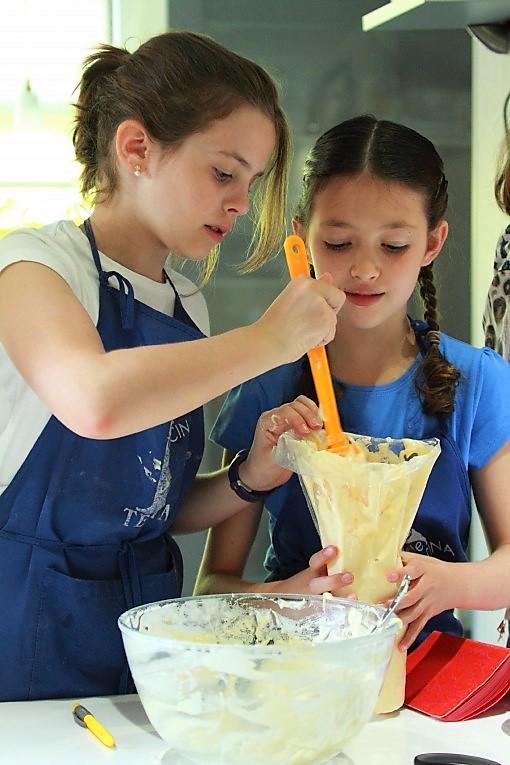 Curso de cocina para Juniors - Semana 4 - Clases de cocina - Escuela de cocina TELVA