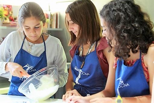 Curso de cocina para Teens - semana 1 - Escuela de cocina TELVA
