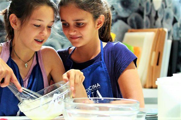 Curso de cocina para Teens - Semana 4 - Clases de cocina - Escuela de cocina TELVA