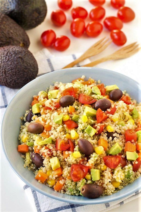 Nuevos cerales - Quinoa - Clases de cocina - Escuela de cocina TELVA