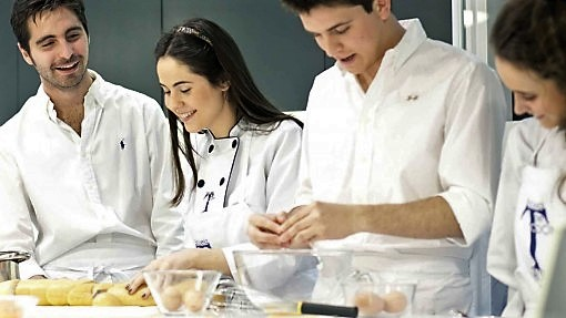 Curso intensivo de cocina para jóvenes - Clases de cocina - Escuela de cocina TELVA