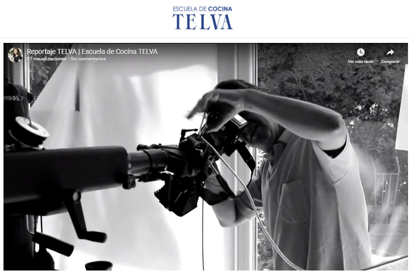 Reportaje de la Revista TELVA - Vídeo TELVA - Escuela de cocina TELVA - Sesé San Martín - TELVA