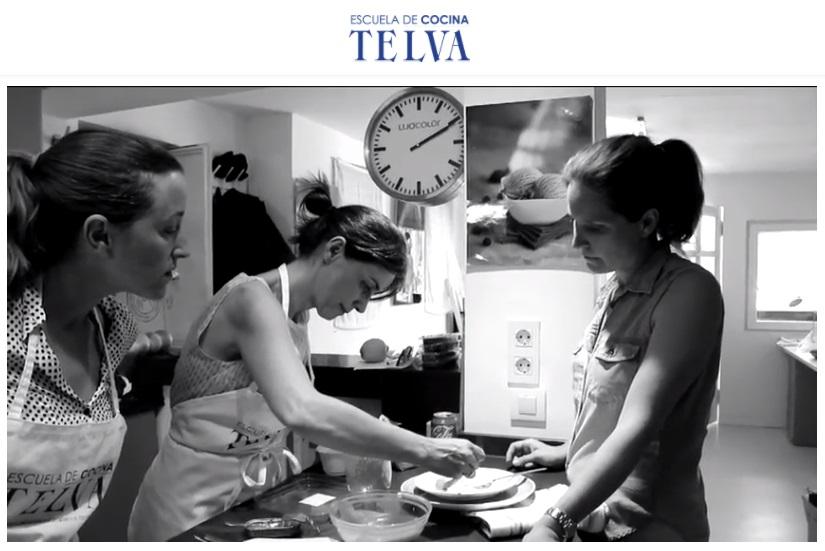 Reportaje revista telva ses san mart n y su equipo - Escuela cocina telva ...