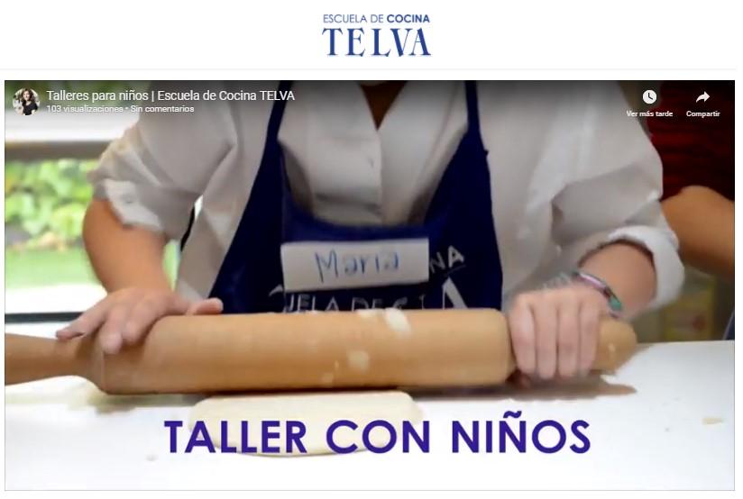 Cocina para niños (Vídeo)