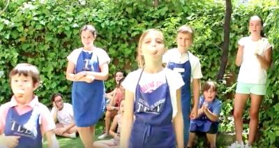 Vídeo del campamento de verano de la Escuela de cocina TELVA