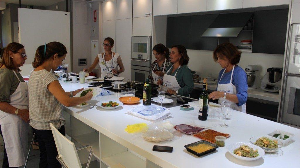 Bienvenidos al nuevo curso en la Escuela de cocina TELVA - Sesé San Martín - Mis cinco tenedores