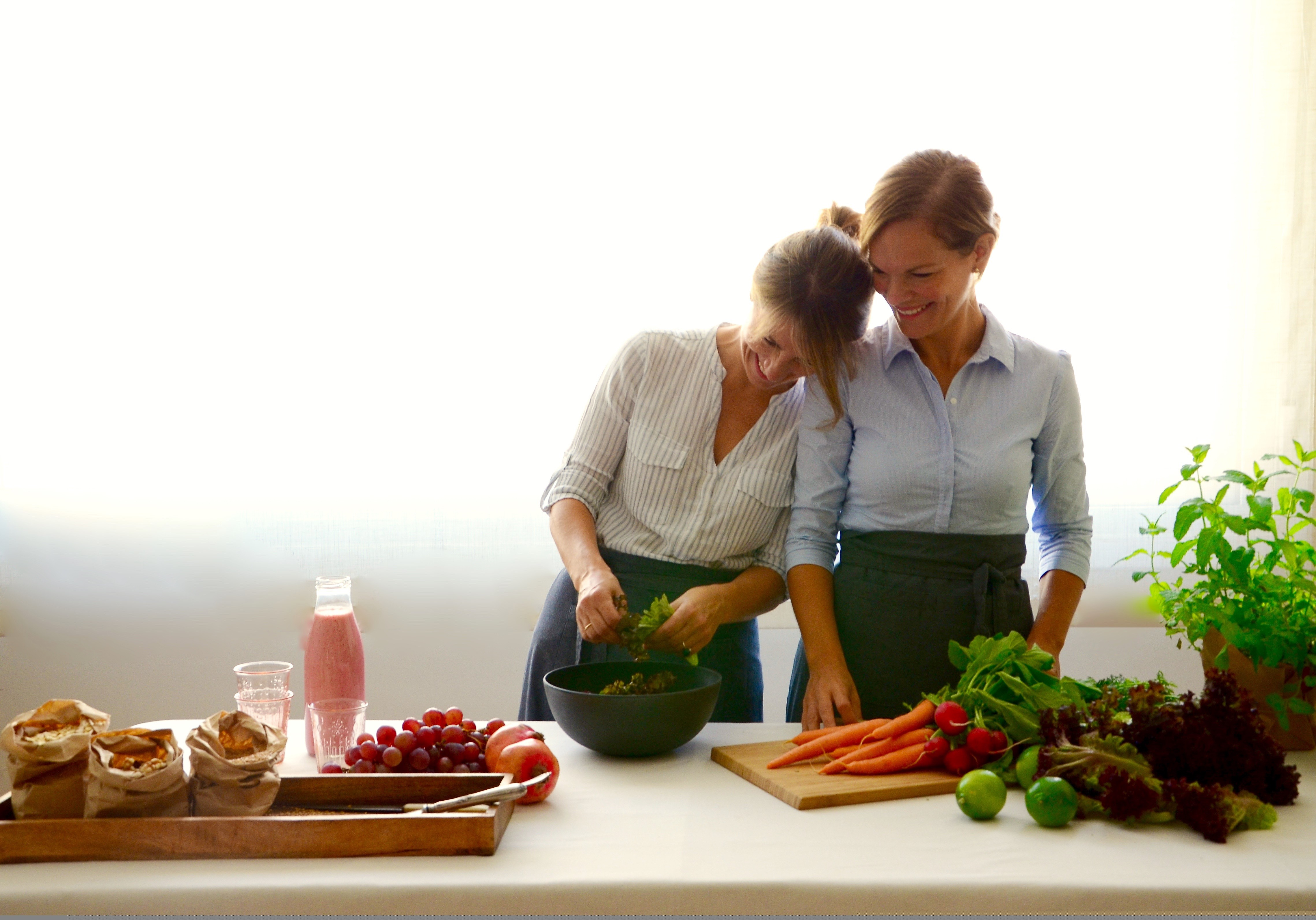 Clase con love green love food escuela de cocina telva for Escuela de cocina