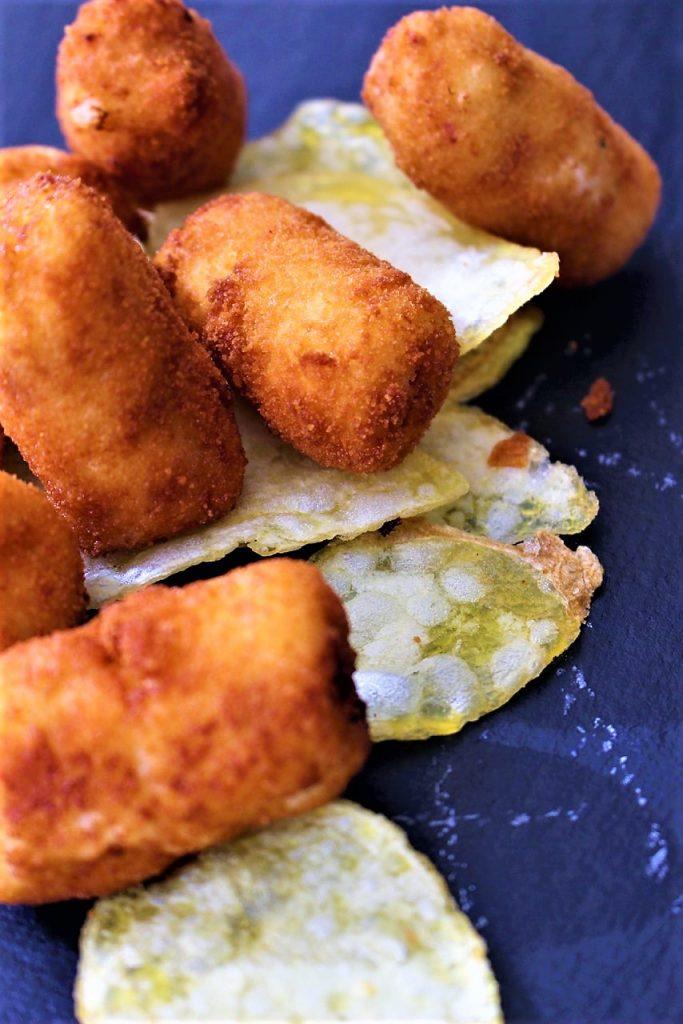Croquetas caseras - Sesé San Martín - Mis cinco tenedores - Escuela de cocina TELVA - TELVA - Blog de gastronomía