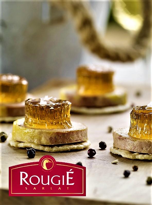 Navidad con Foie gras - Rougie - Curso de cocina - Escuela de cocina TELVA