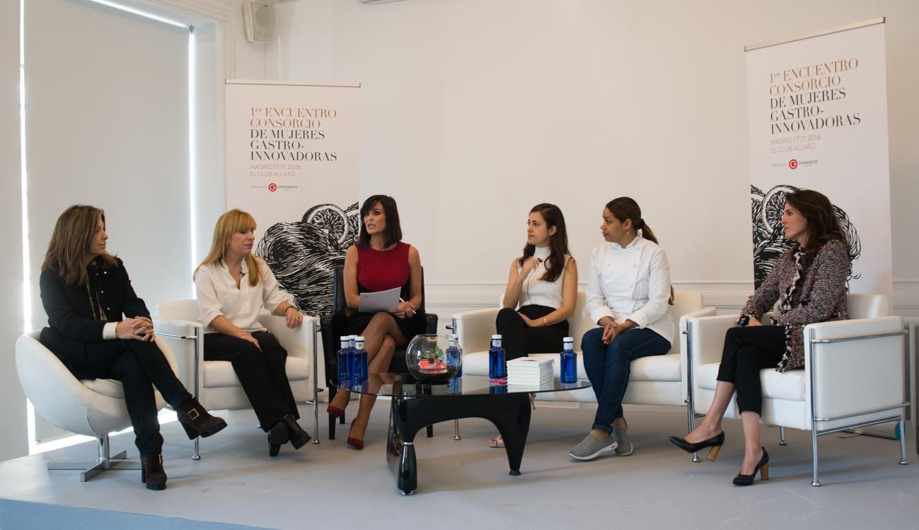 Encuentro «Consorcio de Mujeres Gastro-Innovadoras» en el Club Allard