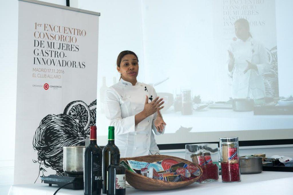 Club Allard - Consorcio de Mujeres Gastro-Innovadoras - Sesé San Martín - Mis cinco tenedores - Escuela de cocina TELVA