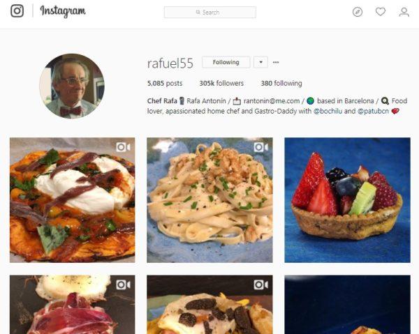 @rafuel55 - Chef Rafa - Instagram - Clases de cocina - Escuela de Cocina TELVA