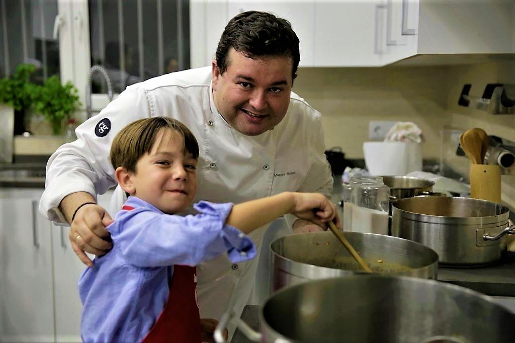 C ctel con jefferson de masterchef junior en la embajada - Escuela de cocina masterchef ...