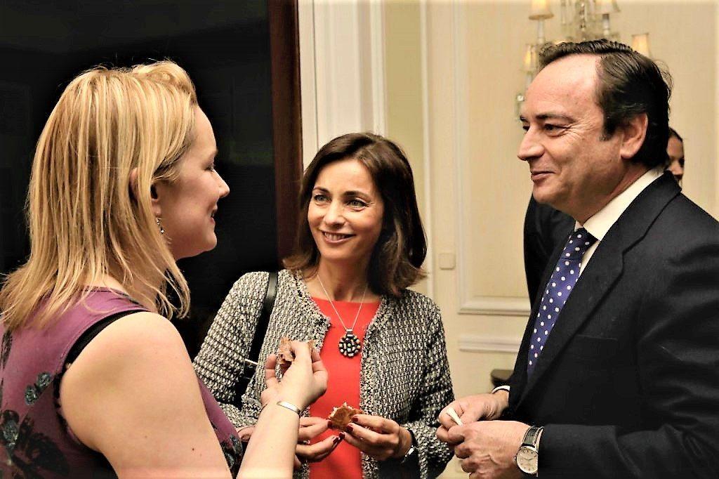 Cóctel con Jefferson de Masterchef Junior en la Embajada Británica - Hispania - Escuela de cocina TELVA - Marcos Morán