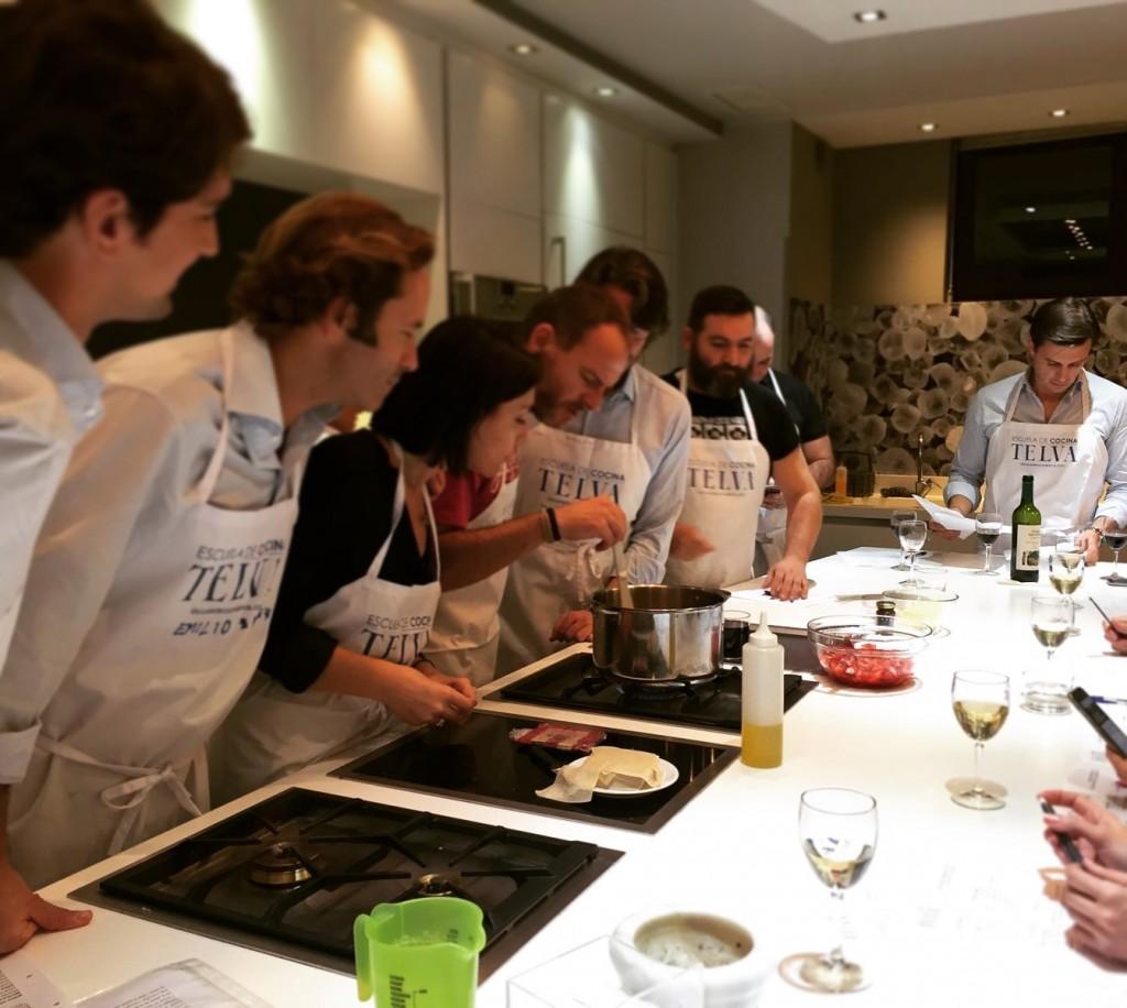 Curso básico de cocina en la Escuela de cocina TELVA - Sesé San Martín - Escuela de cocina en Madrid - Mis cinco tenedores
