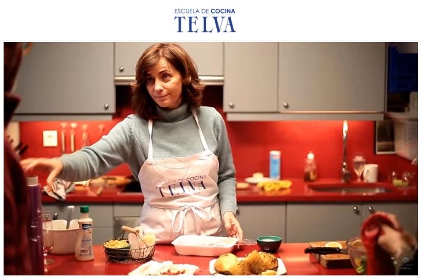 Revista TELVA - Cocina and Foodies - Making of reportaje para la Revista TELVA - Sesé San Martín - Escuela de cocina TELVA - TELVA - Recetas que salen - Mis cinco tenedores