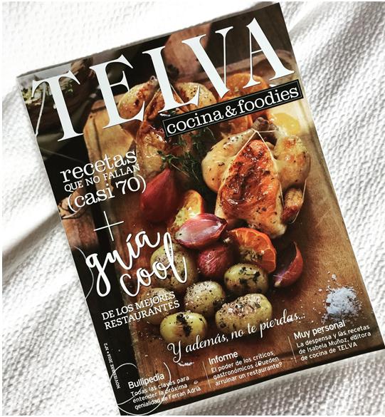 Recetas De Cocina Telva | Making Of Del Reportaje Para La Revista Telva Cocina And Foodies