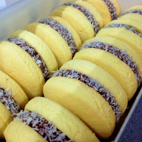 Alfajores argentinos - dulces argentinos - Curso de cocina - Escuela de cocina TELVA