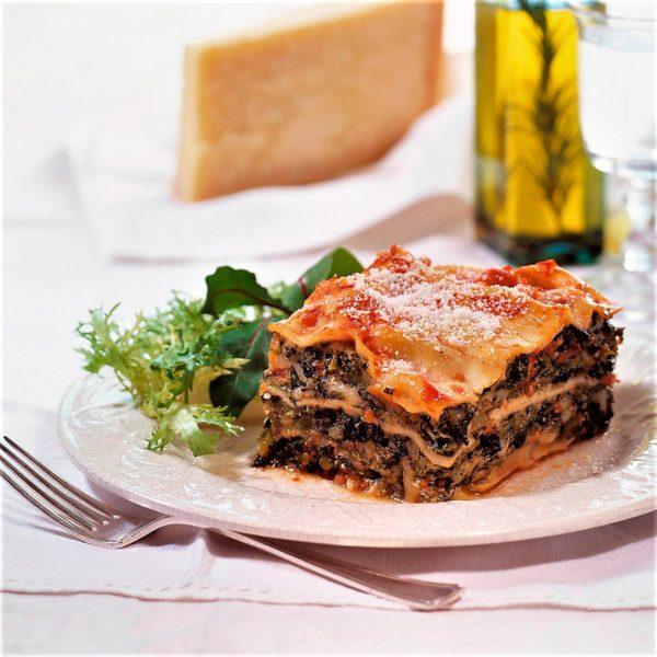 Lasaña - Cursos cocina - Escuela de cocina TELVA