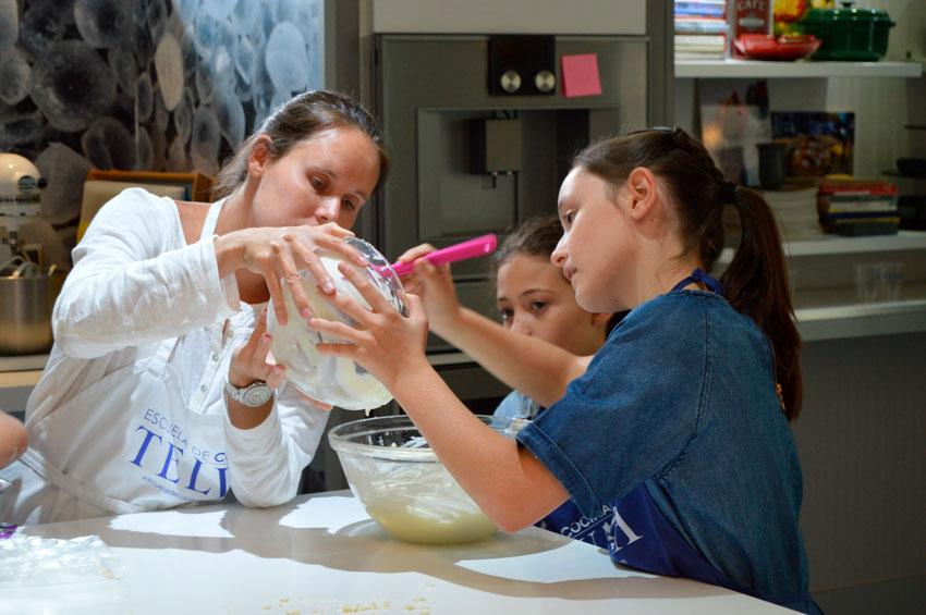 Campamentos de cocina en Madrid - Escuela de cocina TELVA - TELVA - Sesé San Martín - Mis cinco tenedores