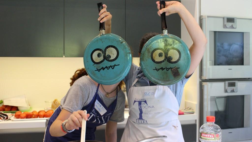 Campamentos de verano en la escuela de cocina telva en madrid - Escuela cocina madrid ...