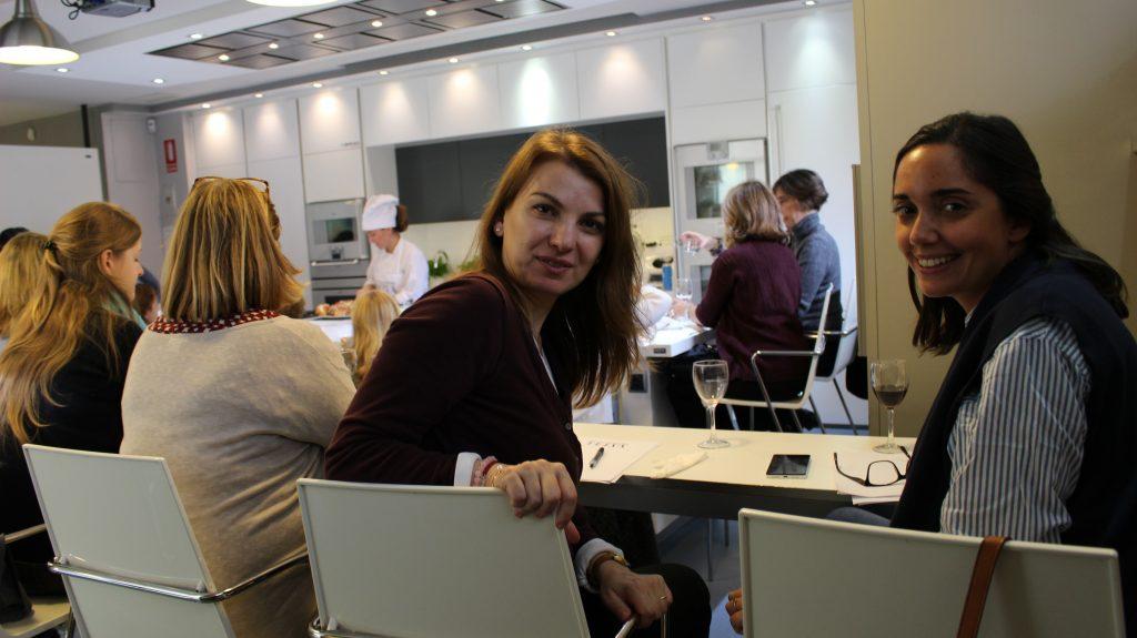 Fin de curso en la Escuela de cocina TELVA en Madrid - Sesé San Martín - Escuela de cocina - Mis cinco tenedores