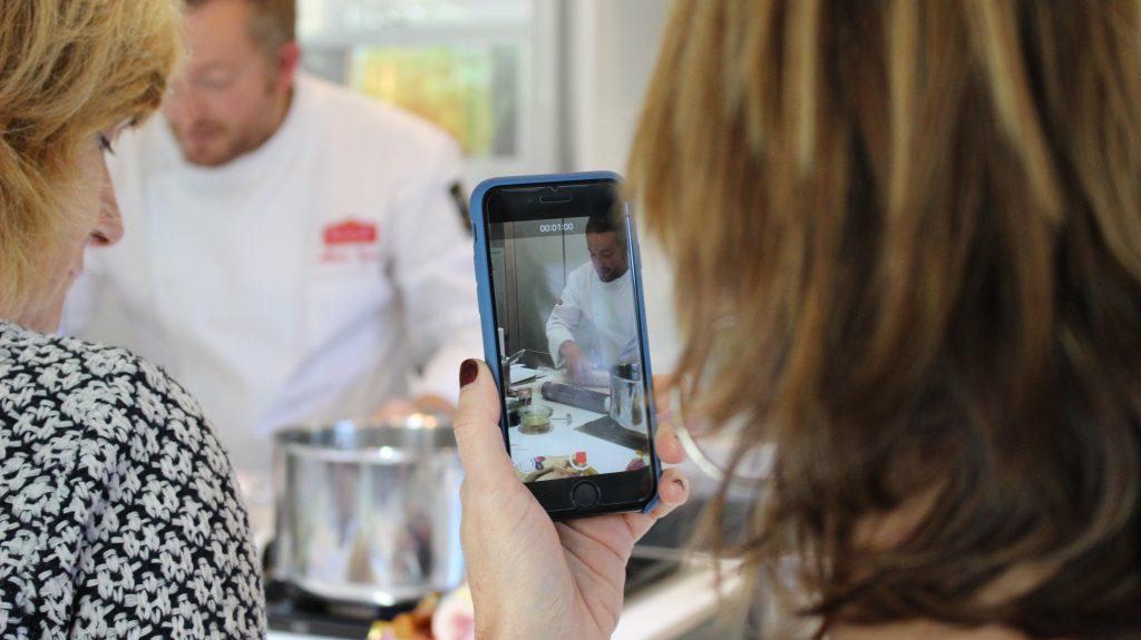 Fin de curso en la Escuela de cocina TELVA en Madrid - Sesé San Martín - Mis cinco tenedores - Escuela de cocina