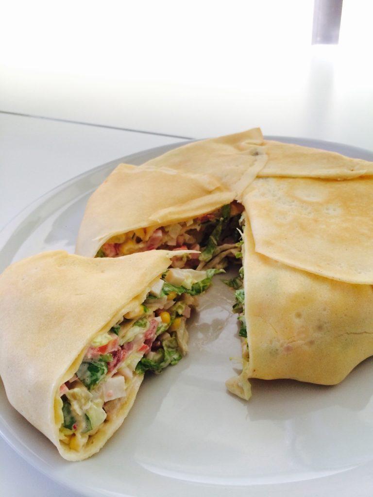 Timbal de crepes - Mis cinco tenedores - Sesé San Martín - Blog gastronomía - Blog recetas - Escuela de cocina TELVA