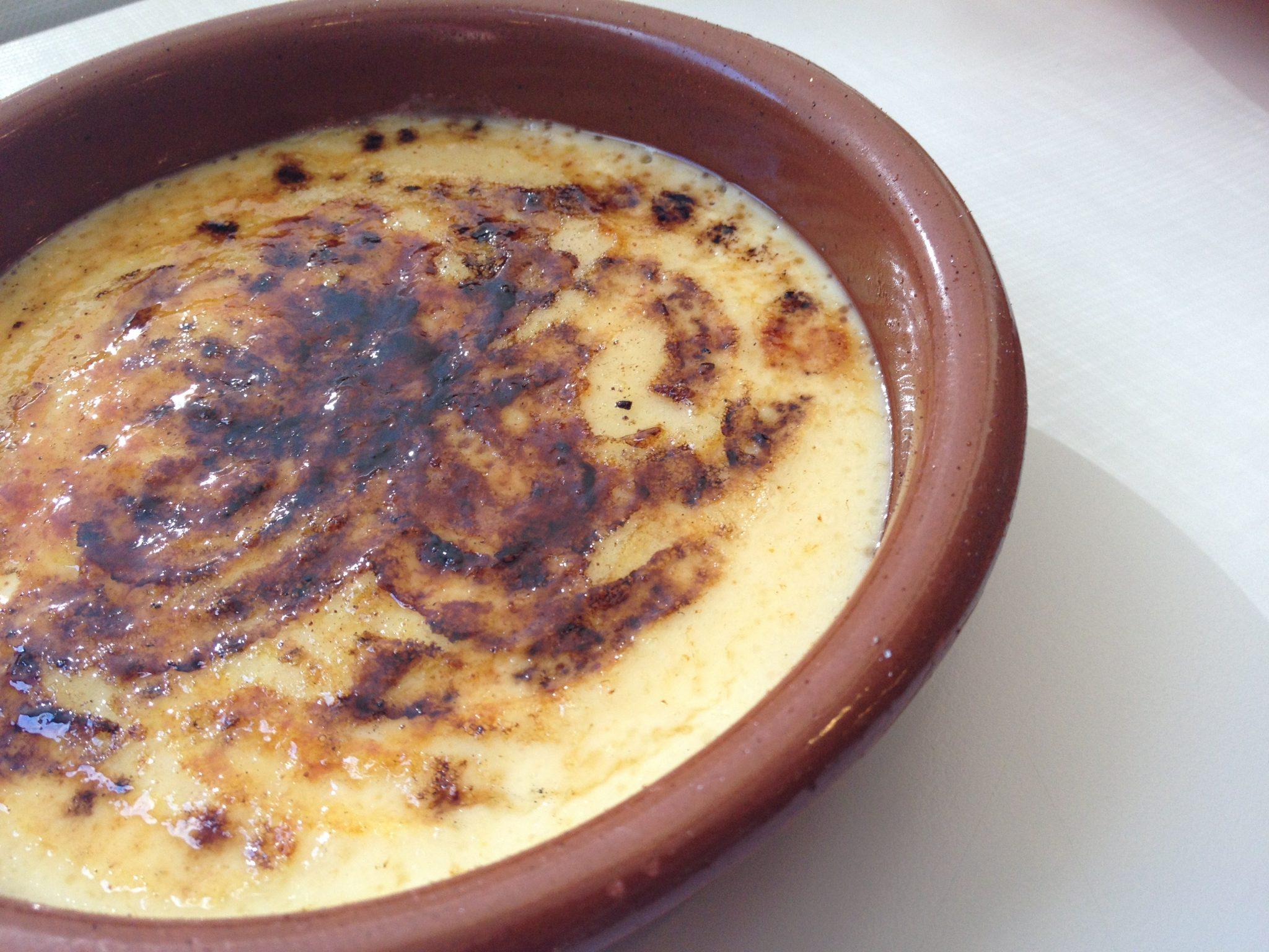 Como caramelizar crema catalana