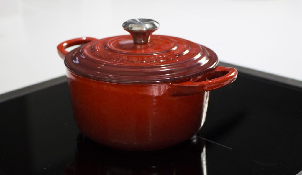 Pudding de limón - Le Creuset - Sesé San Martín - Mis cinco tenedores - Escuela de cocina TELVA - TELVA - Blog de gastronomía