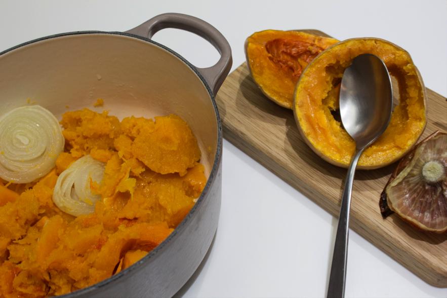 Recetas de temporada - Receta crema de calabaza de Sesé San Martín - Mis cinco tenedores - Blog de gastronomía - Escuela de cocina TELVA - TELVA