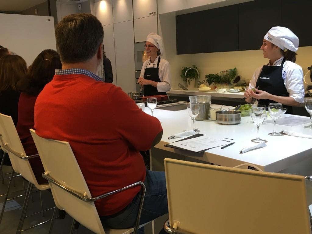 Los amigos de gaggenau en la escuela de cocina telva - Escuela cocina telva ...
