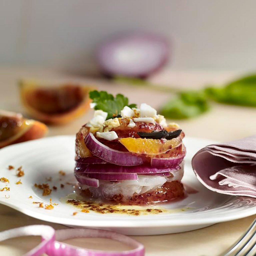 Ensalada de bacalao y naranja - Sesé San Martín - Mis cinco tenedores - Escuela de Cocina TELVA - TELVA - blog de recetas
