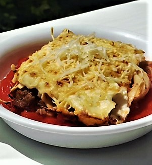 Canelones con carne - Mis cinco tenedores - Sesé San Martín - Blog recetas - Escuela de cocina TELVA