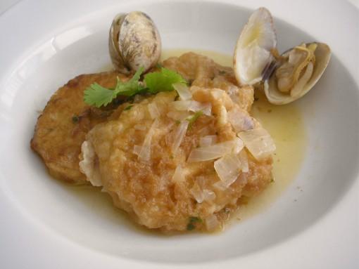 curso de técnicas basicas Escuela de Cocina TELVA Programa Patatas a la importancia