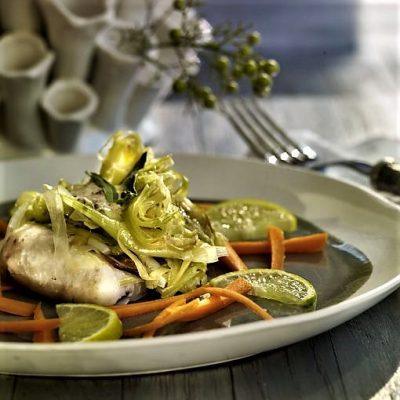 En papillote - Clases de cocina - Escuela de Cocina TELVA