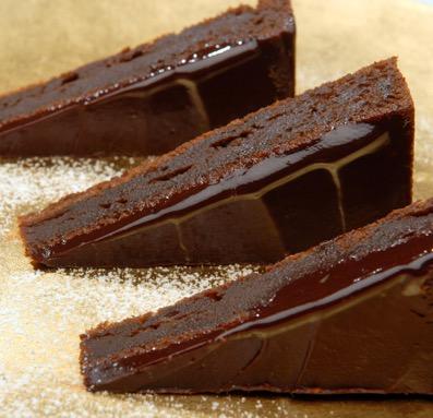 Pastel de chocolate - Escuela de cocina TELVA - Sesé San Martín - Mis cinco tenedores