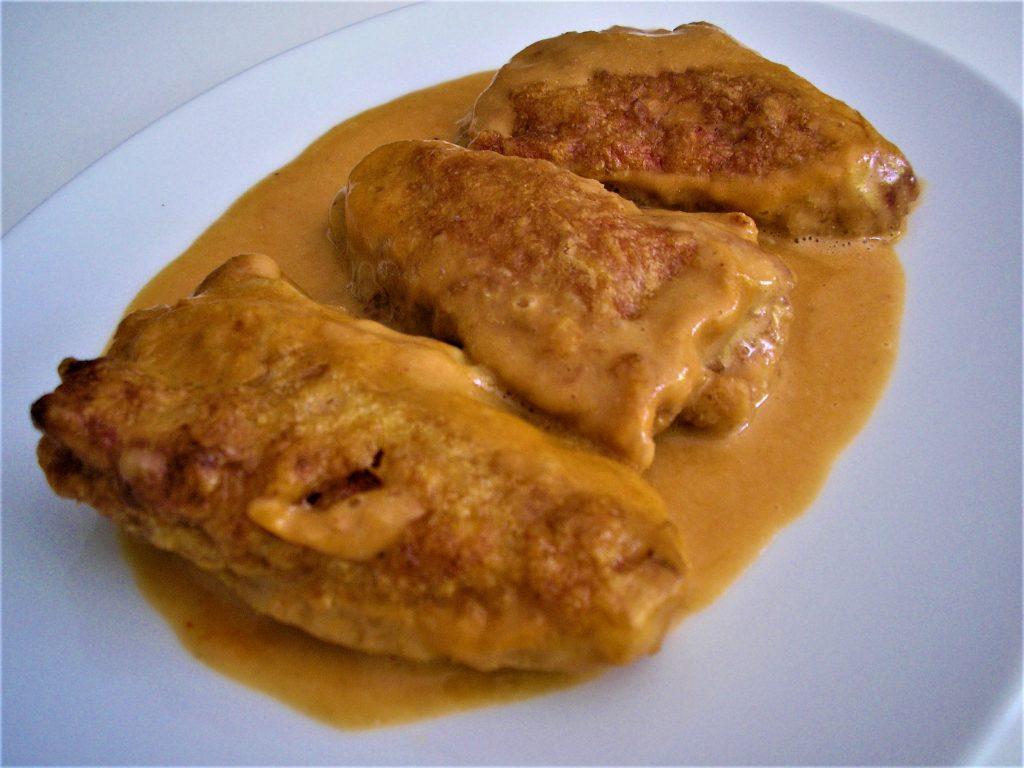 Pimientos del piquillo rellenos de marisco - Recetas que salen - Mis cinco tenedores - Sesé San Martín - Escuela de cocina TELVA - Cocina TELVA - Recetas TELVA