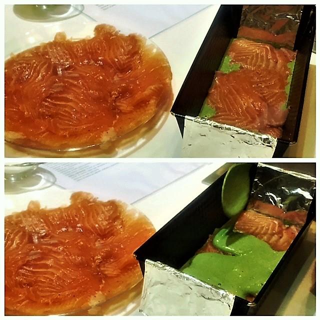 Terrina de salmón - Receta pescado azul - Escuela de cocina TELVA - Sesé San Martín - Blog de recetas - Escuela de cocina