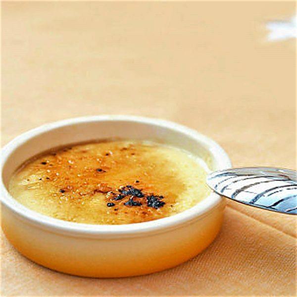 Brasserie - Creme brulee - Curso de cocina francesa - Escuela de cocina TELVA