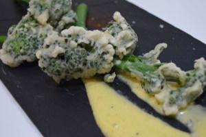 Curso de técnicas express de la Escuela de cocina TELVA - Programa - Berenjenas en tempura