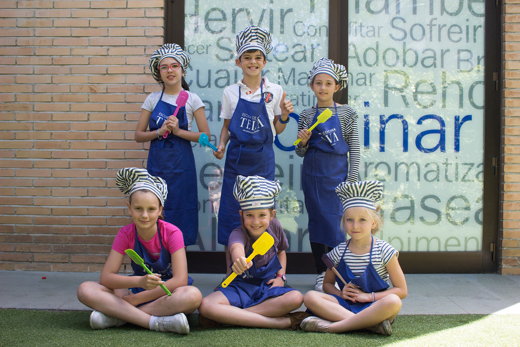 Campamentos Juniors Cursos monográficos de la Escuela de cocina TELVA