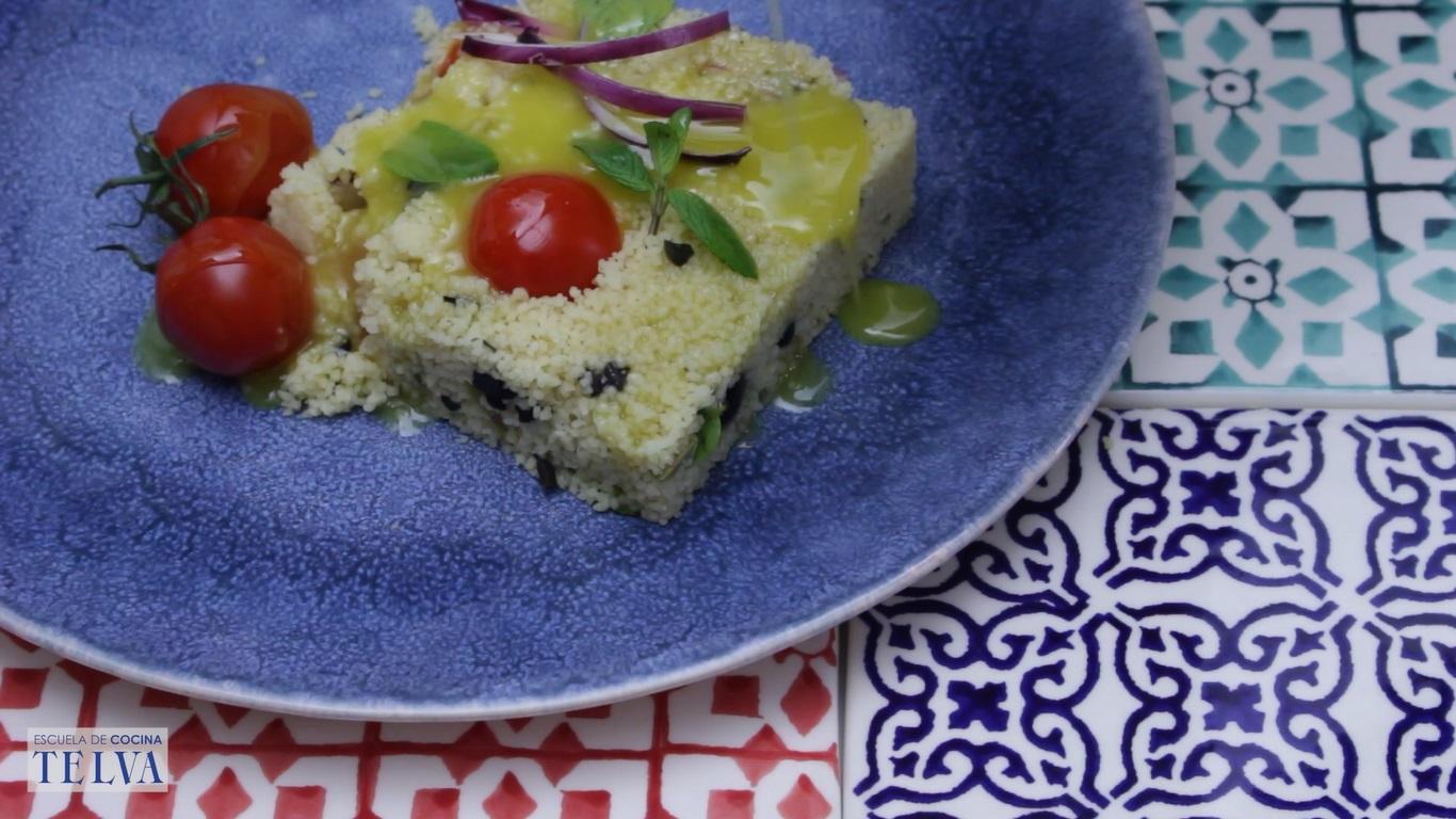 Ensalada de cous cous - Receta TELVA - Escuela de cocina TELVA - Recetas TELVA - Cocina TELVA - Recetas que salen