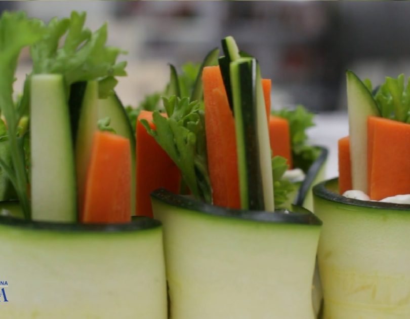 Rollitos vegetales