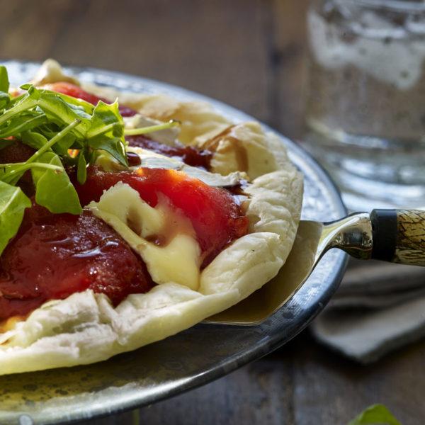 Tartas saladas - Cursos monográficos de la Escuela de cocina TELVA - Tatin de tomate
