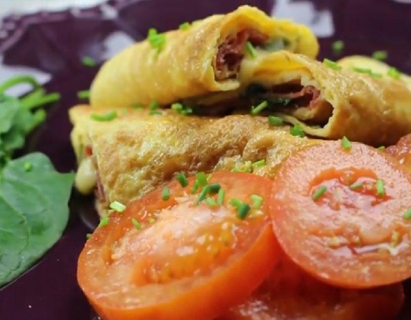 Wrap de tortilla - Receta TELVA - Escuela de cocina TELVA - Recetas TELVA - Cocina TELVA - Recetas que salen